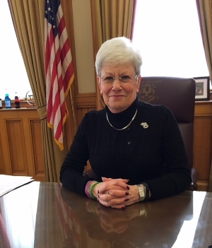 Democratic Lt. Gov. Nancy Wyman