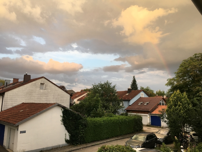 Münchner evening, July 24, 2016.