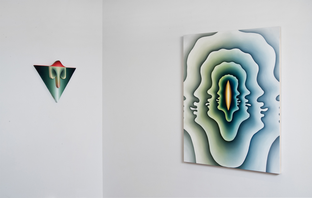 Jeff Bailey Gallery install view