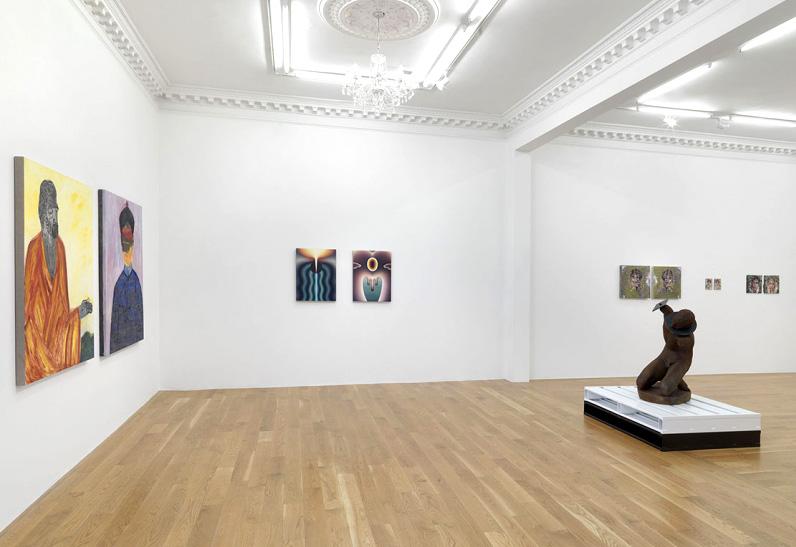 'Self', group self-portrait show at Massimo De Carlo in London, UK