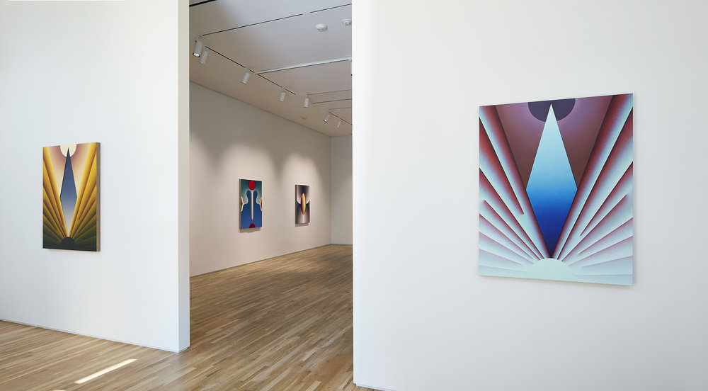 """Point of Entry"" at Pace Gallery in Palo Alto, California"