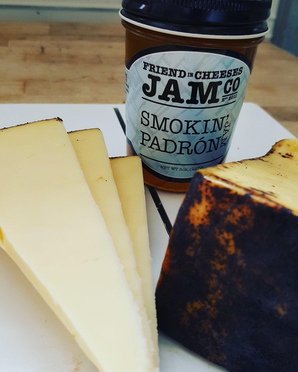Smokin' Padron Jam & Beehive's Barely Buzzed...scrumptous!