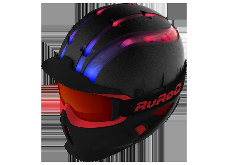 Das RAID-System das Aufkondensieren verhindert - Das RAID-System ist eine Optimierung von dem Schub des Luftstromes. Die Luft wird von Lufteintrittsöffnungen in den Helm, Maske und Frontschutz aufgenommen, und wird nach Außen geführt. Dieses System ermöglicht ein passives Lüftungssystem, dass das Aufkondensieren von der Brille verhindert.