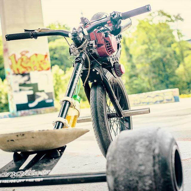 Le développement de ce kit motorisé va reprendre cet hiver 😁 #canaillesdrift #drifttrike #drifttrikeswiss