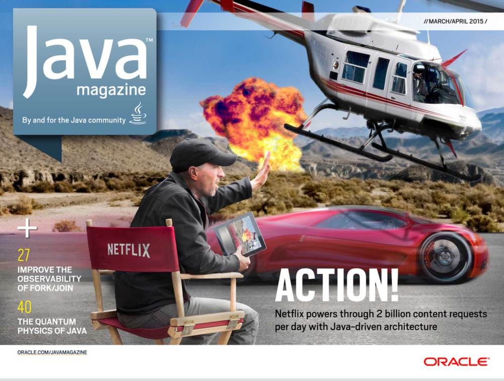 Java Magazine Netflix Cover