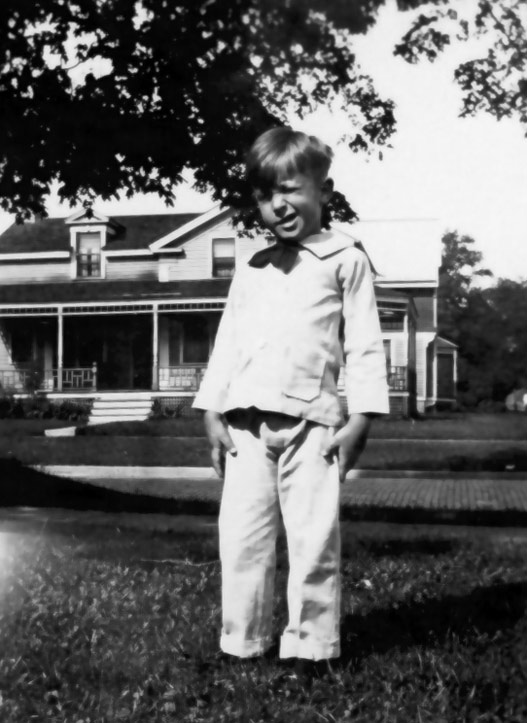 As a boy, Ray Bradbury spent countless hours at the Carnegie Library. Photo courtesy of the Bradbury Trust.