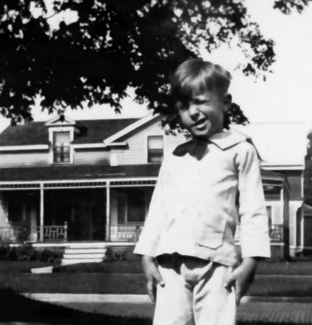 As a boy, Ray Bradbury spent countless hours at the Carnegie Library.Photo courtesy of the Bradbury Trust.