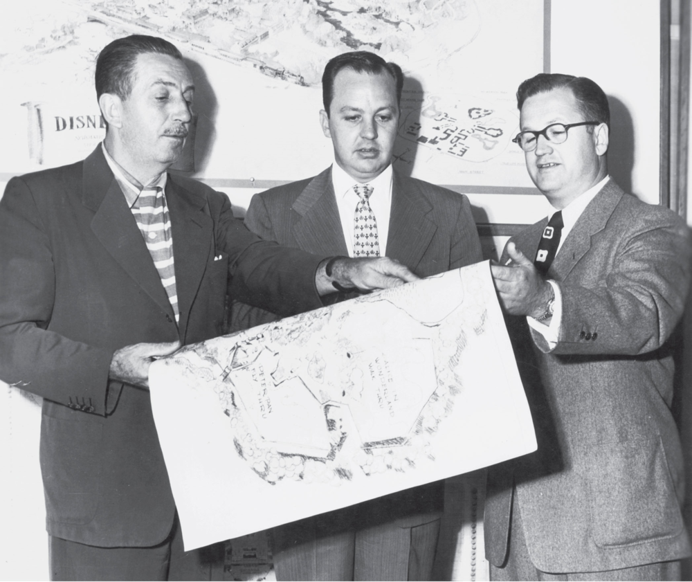"Walt Disney, CV Wood & Harrison ""Buzz"" Price"