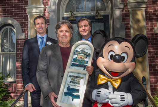 "Harrison ""Buzz"" Price Window Dedication at Disneyland"