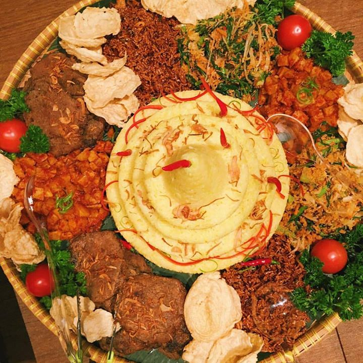 Retno's classic Tumpeng! Have something to celebrate this winter? Email us. We can put together an unforgettable feast for your party.
