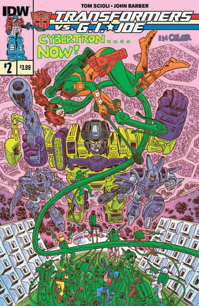 Standard Cover Art By: Tom Scioli