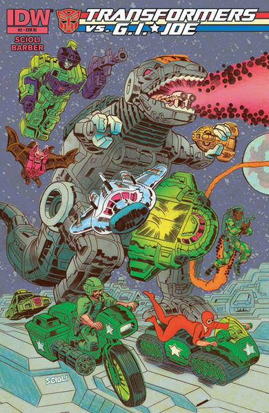 Retailer Incentive Cover Art By: Tom Scioli