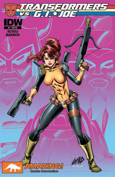 Amazing Convention Exclusive Cover Art By: Rob Liefeld and Tom Mason