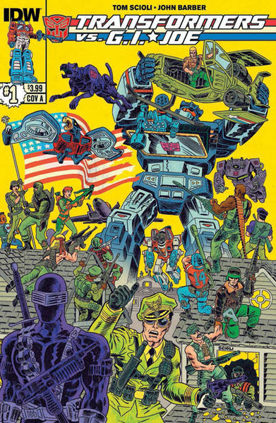 Cover A Art By: Tom Scioli