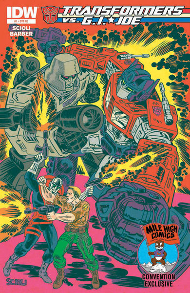 Mile High Comics Exclusive Cover Art By: Tom Scioli