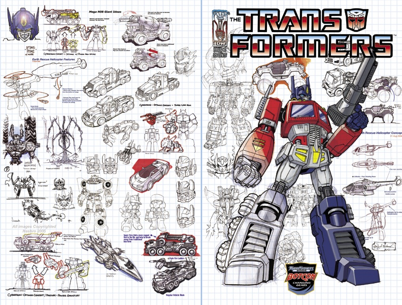 BotCon 2005 Cover: Aaron Archer