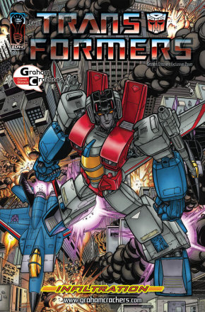 Graham Crackers Comics Cover: Nick Roche
