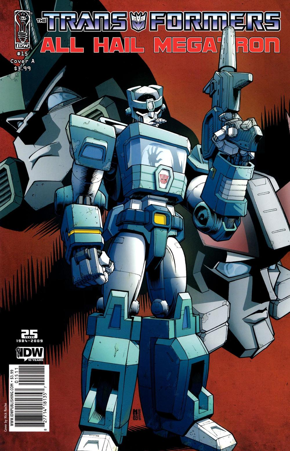 Cover A: Nick Roche and Kris Carter