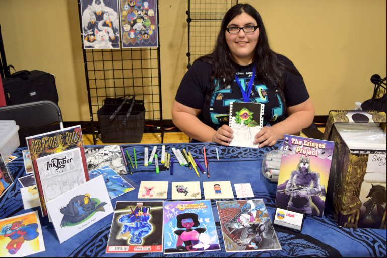 Shana Moura at Fort Collins Comic Con 2017.