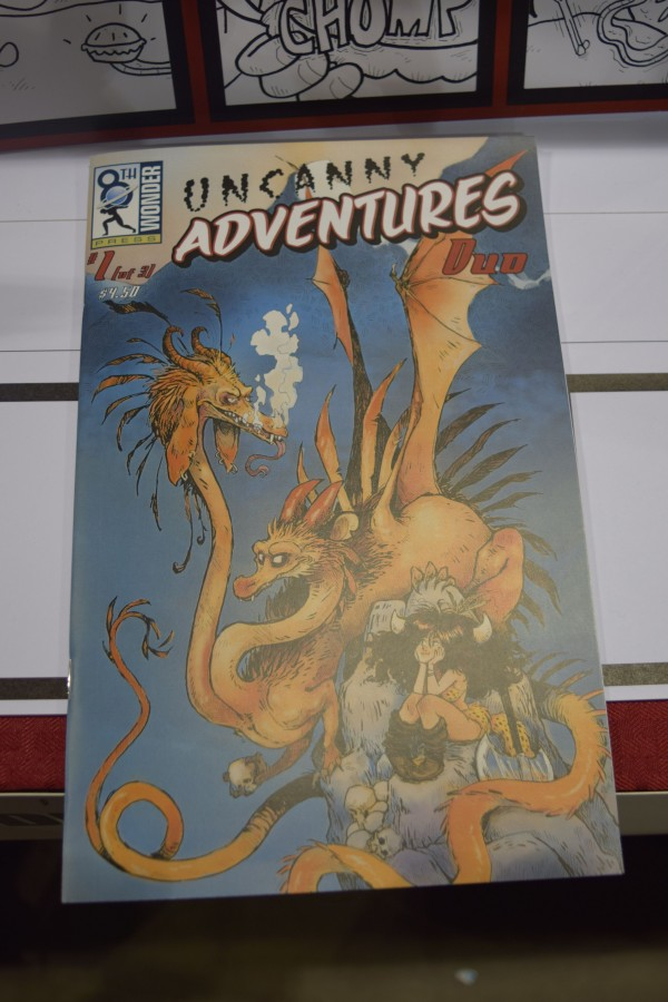Uncanny Adventures: Duo #1 from 8th Wonder Press.