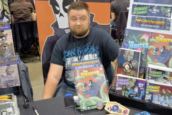 Kevin Gentilcore of CreepHouse Comics.