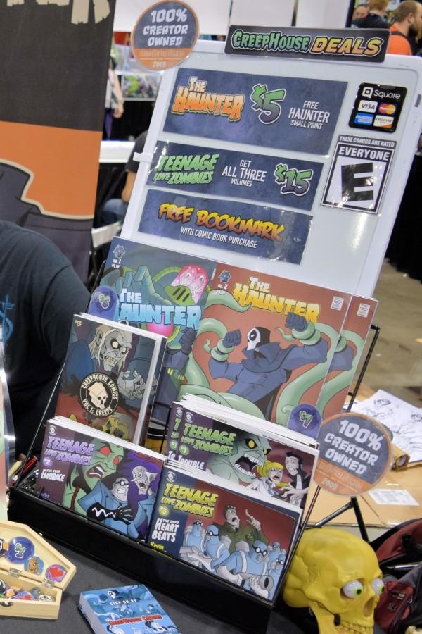 CreepHouse Comics.