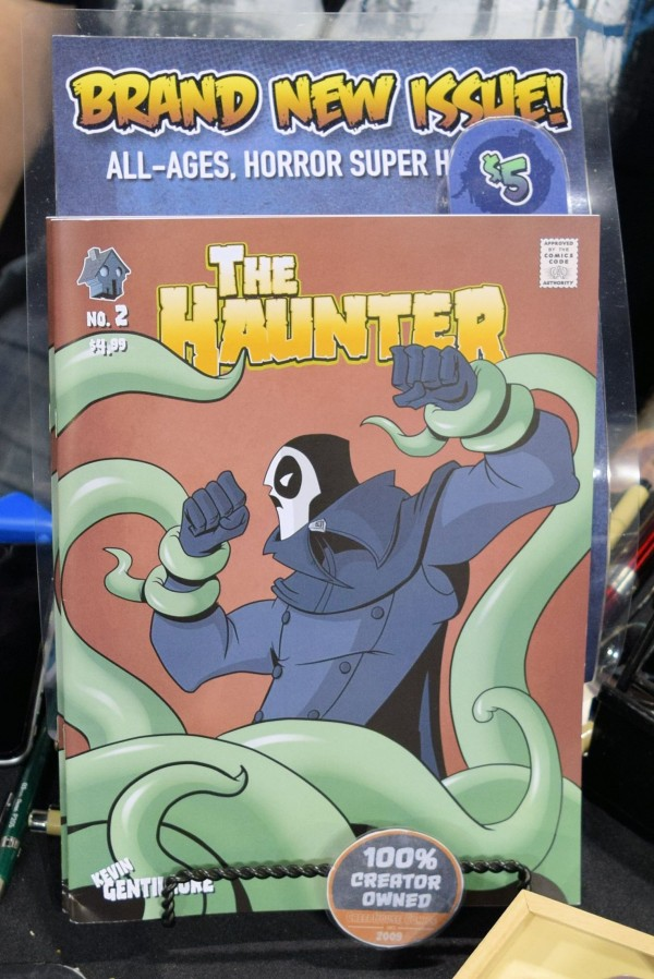 The Haunter #2 from CreepHouse Comics.