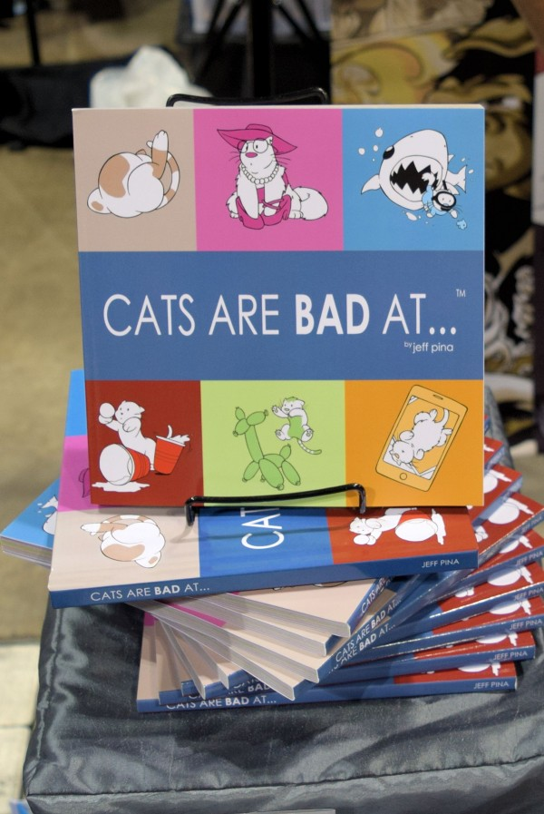 Cats Are Bad At by Jeff Piña.