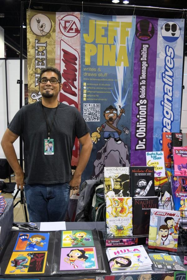 Jeff Piña at Denver Comic Con 2015.