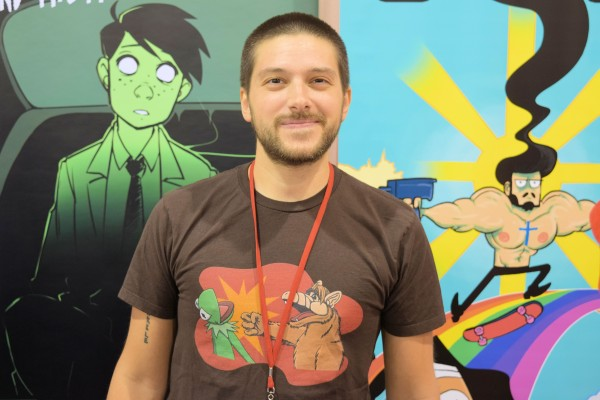 Nick Marino at Phoenix Comic Con 2015.