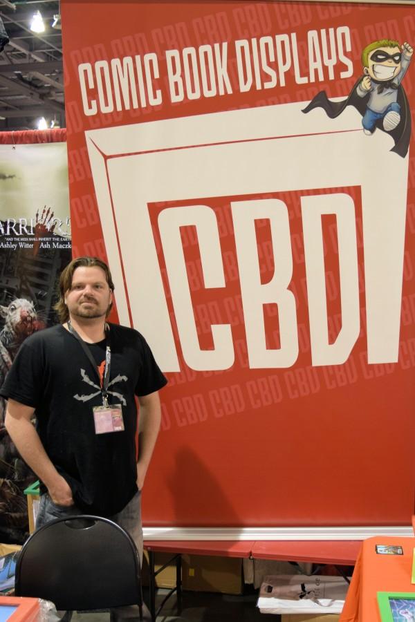 Dave Music at Phoenix Comic Con 2015.