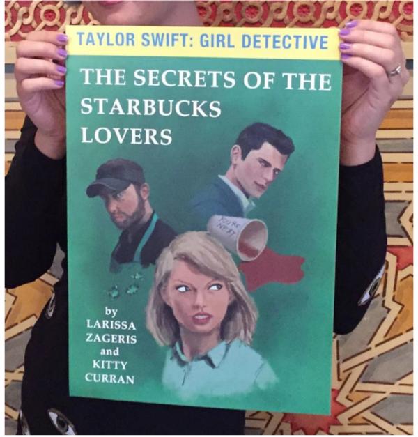 Taylor Swift: Girl Detective Kickstarter reward - print.