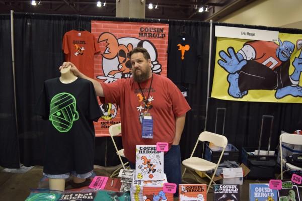 "Denny ""Dennmann"" Riccelli at Phoenix Comic 2016 Con (3)."