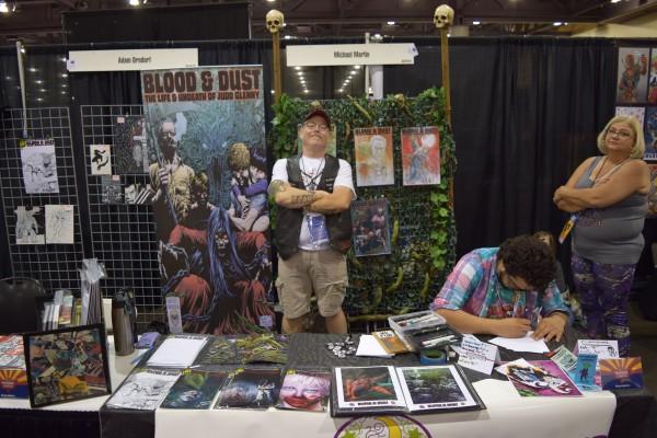 Michael Martin at Phoenix Comic Con 2016 (2).