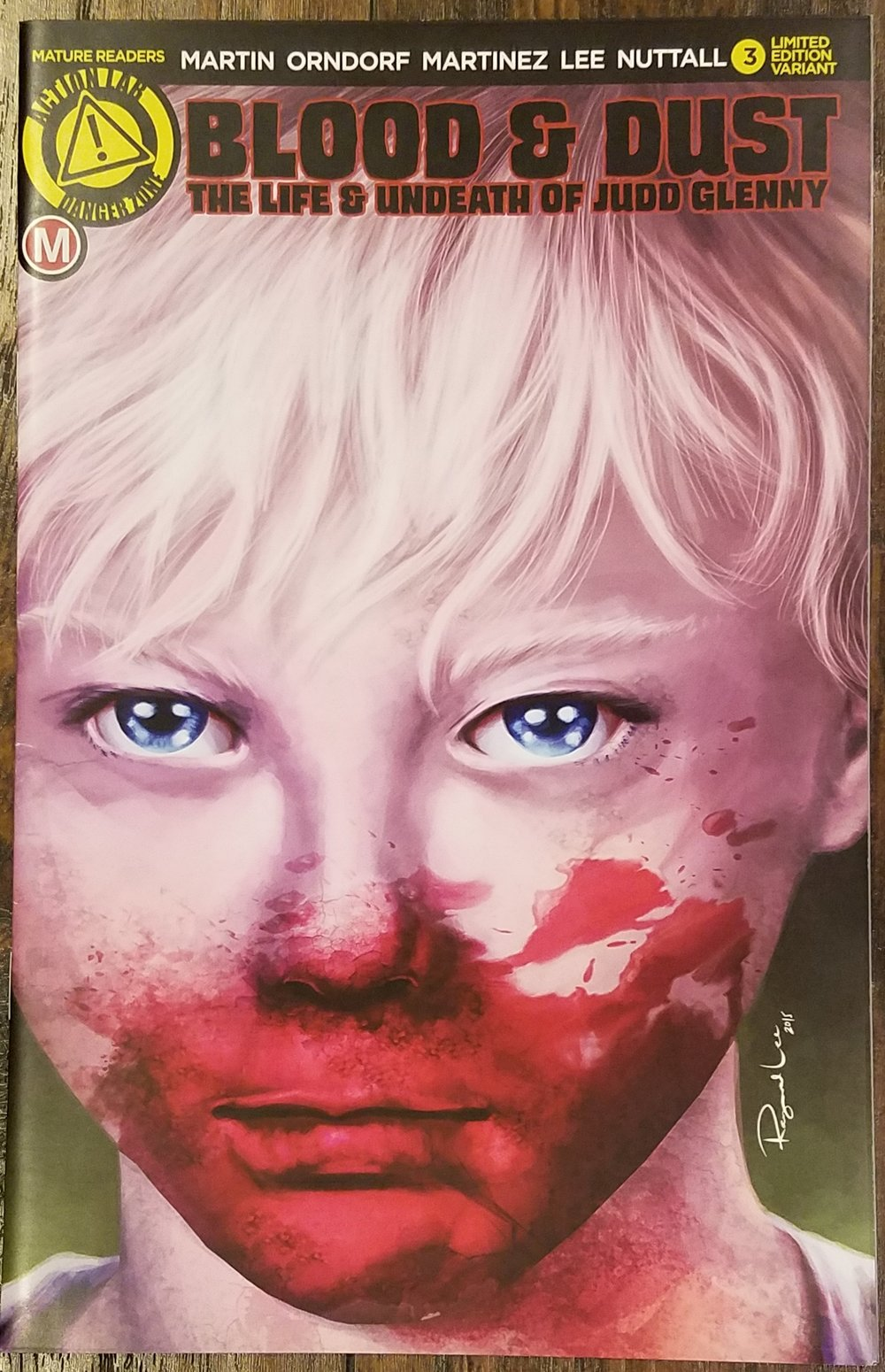 Blood & Dust: The Life & Undeath of Judd Glenny by Michael Martin & Adam Orndorf #3 Limited Edition Variant.