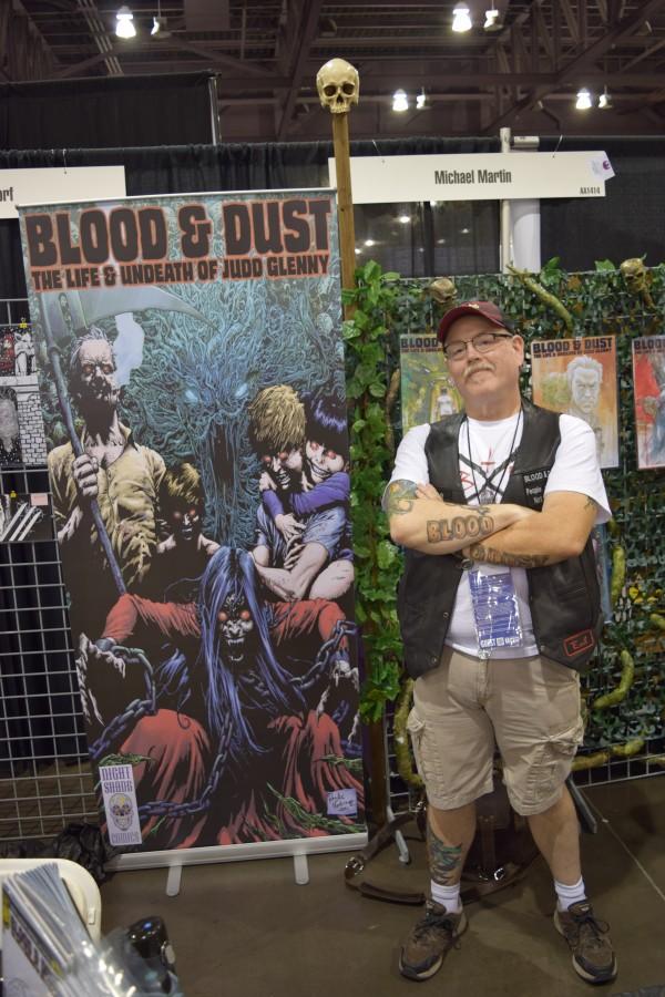 Michael Martin at Phoenix Comic Con 2016 (3).