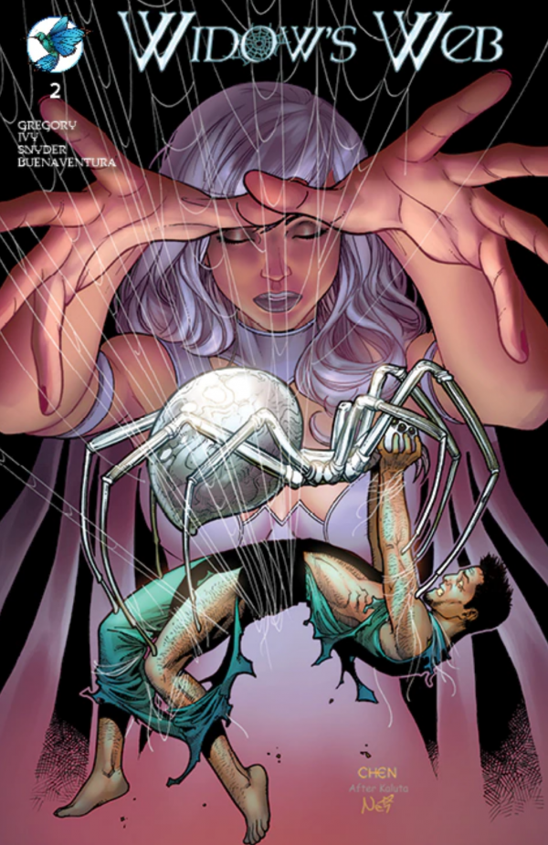 Widow's Web #1 written by Raven Gregory and Autumn Ivy.
