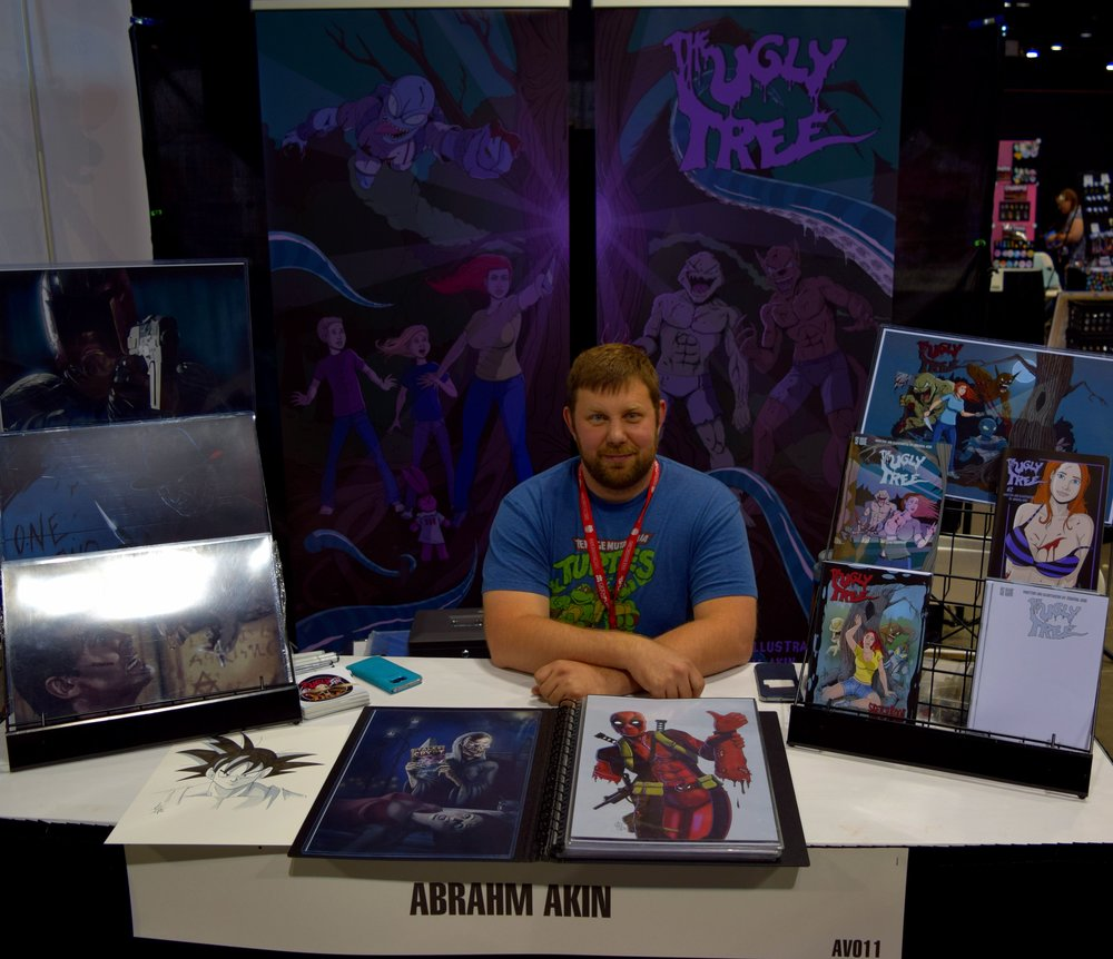 Abrahm Akin at Denver Comic Con 2016 (1).