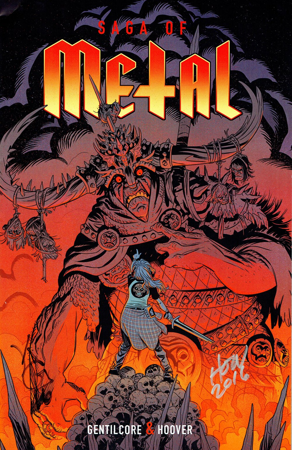 Saga of Metal #1 from Kevin Gentilcore, Patrick Hoover, Robert Elrod, and Matt Smith.