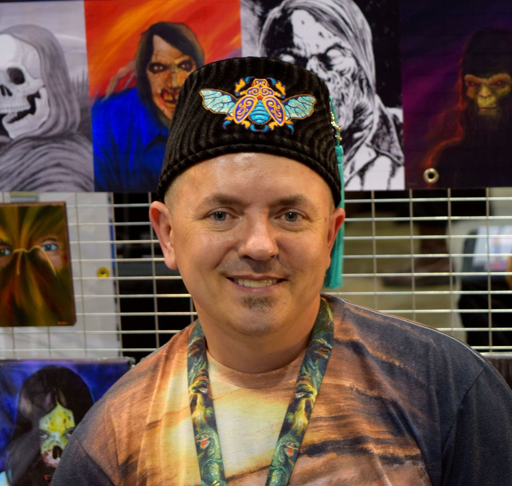 Robert Elrod at Denver Comic Con 2016.