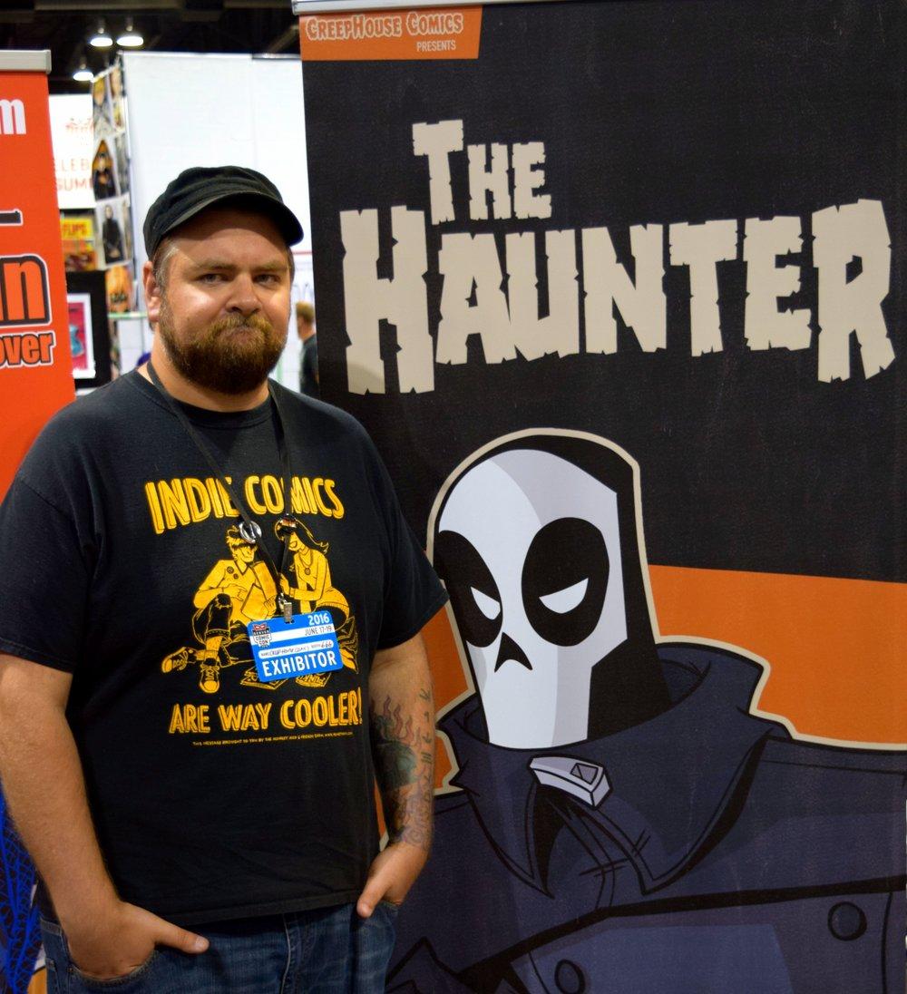 Kevin Gentilcore at Denver Comic Con 2016.