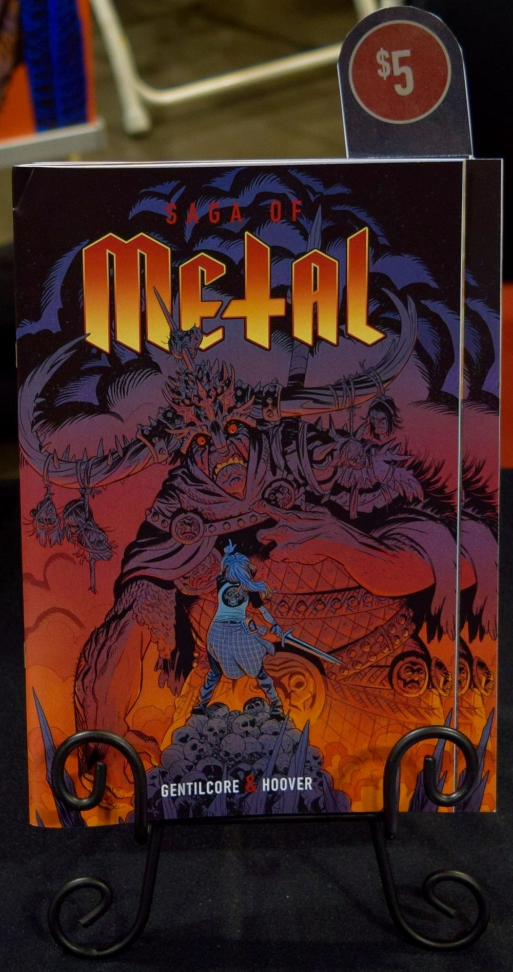 Saga of Metal #1 at Denver Comic Con 2016.