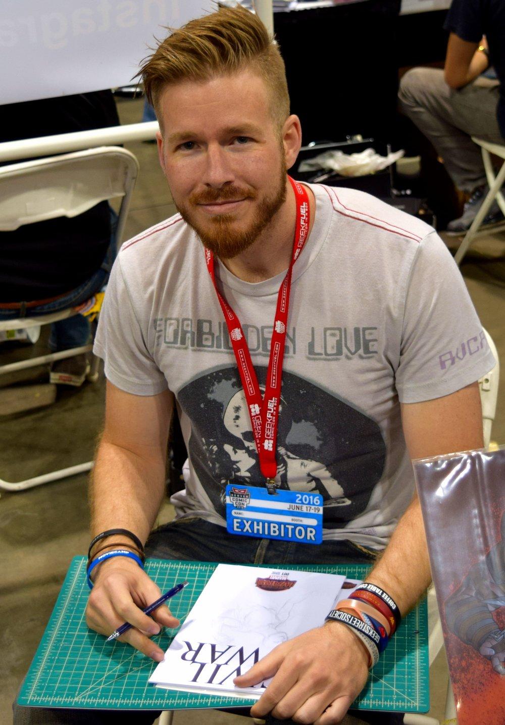 Red Team Go Colorado member Izik Bell.