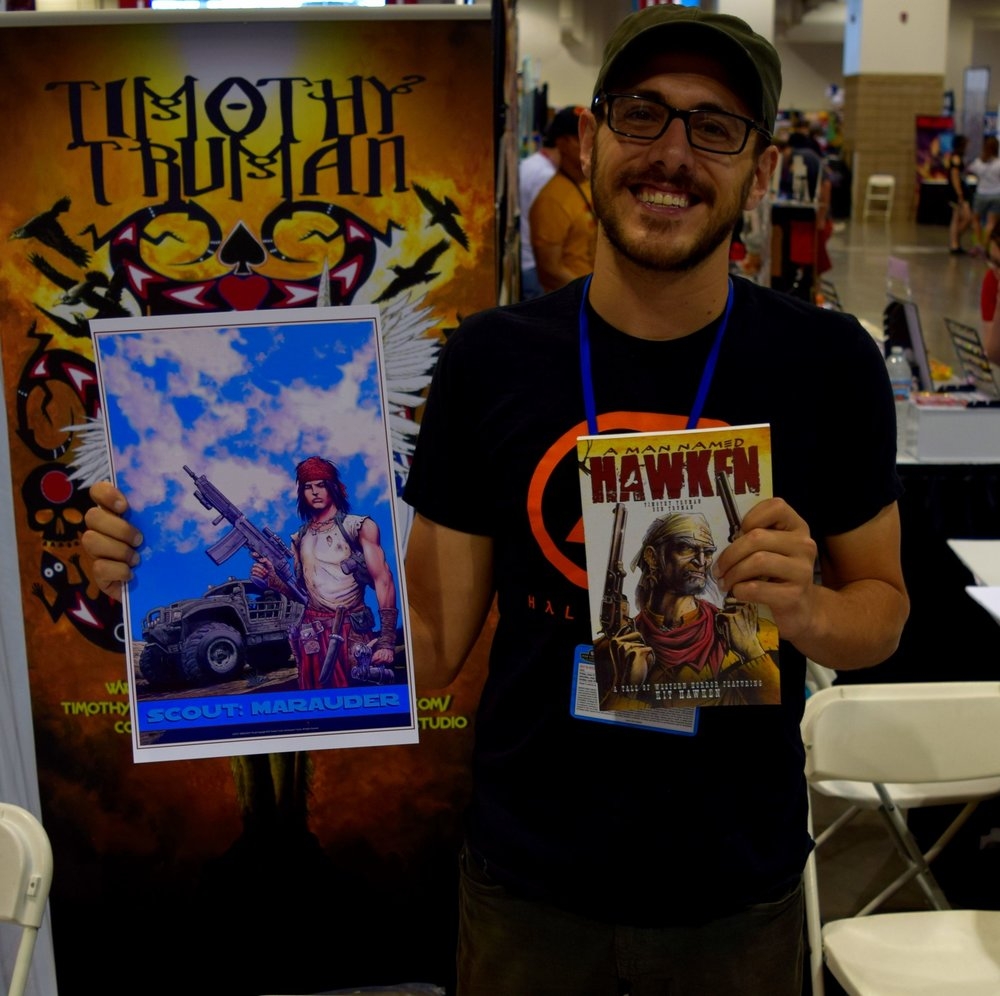 Ben Truman at Denver Comic Con 2016 (1).