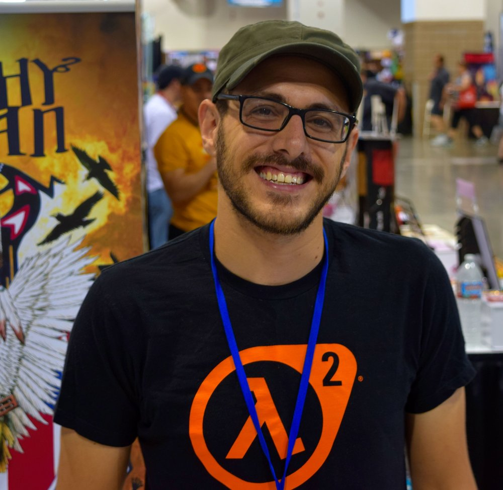 Ben Truman at Denver Comic Con 2016 (2).