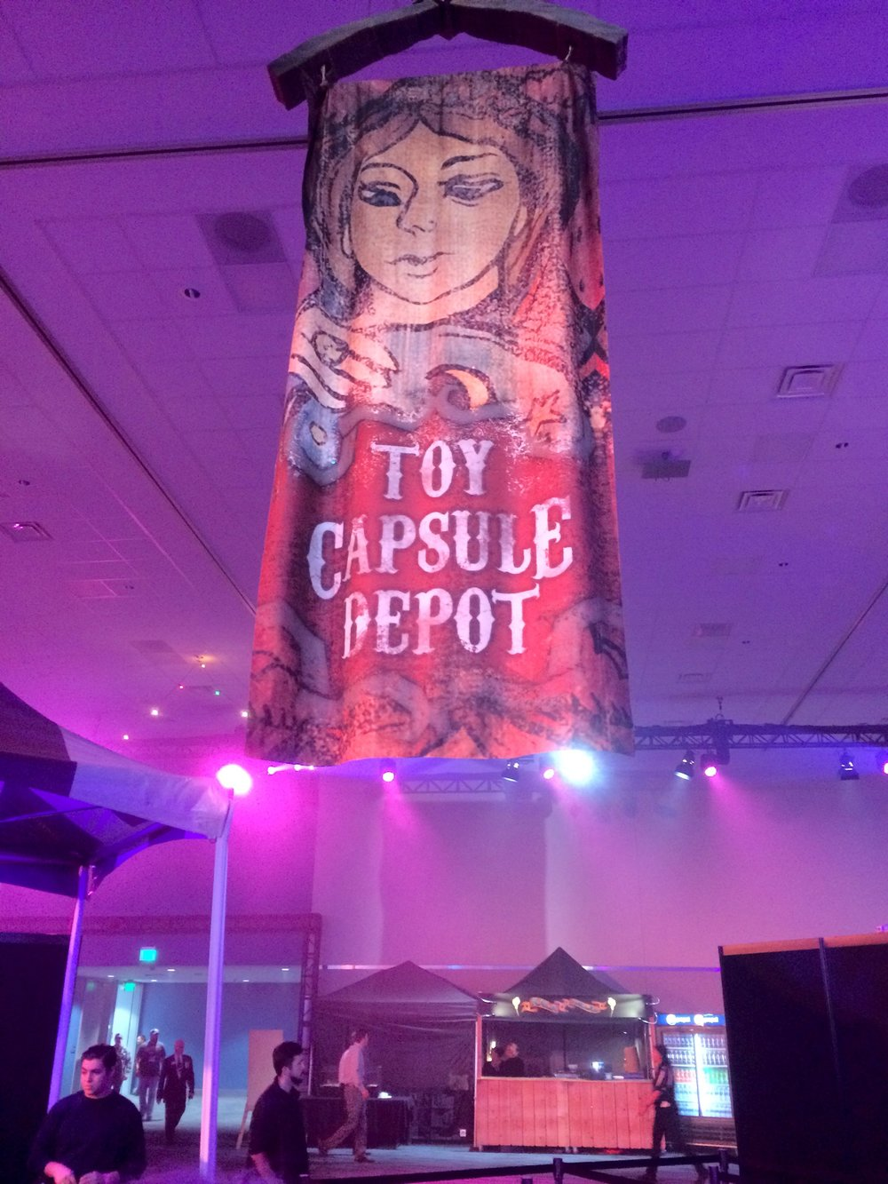 Toy Capsule Depot at BlizzCon 2017.