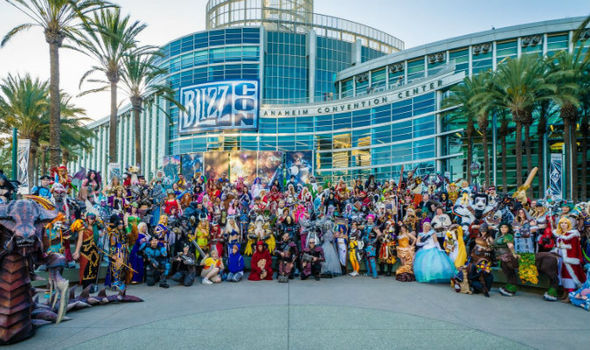 Cosplay at BlizzCon 2017.