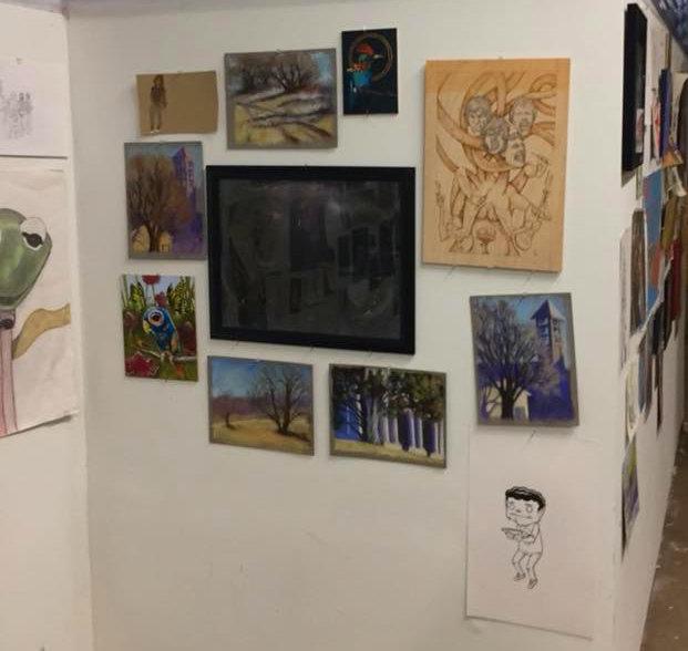 Take Art Leave Art (TALA) wall at the DINK Showcase 2. (1)