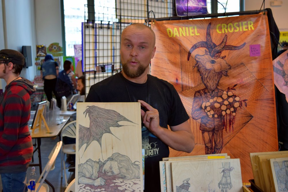 Daniel Crosier at DINK 2017. (1)