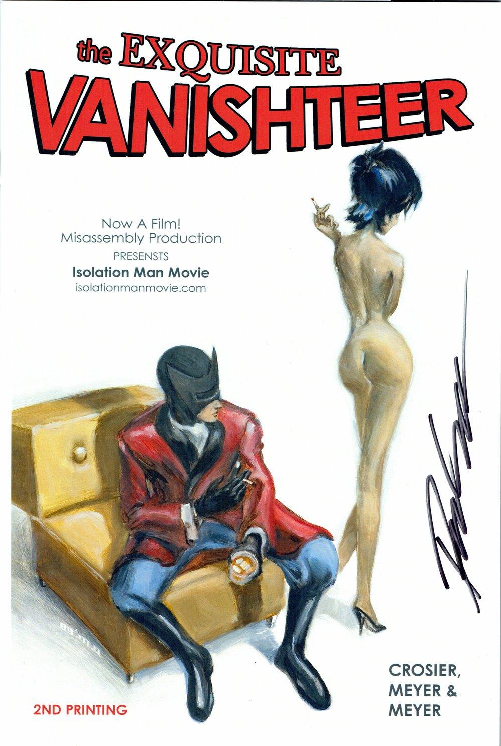 The Exquisite Vanishteer (2nd print) by Daniel Crosier.